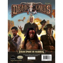 Deadlands Reloaded : Ecran...
