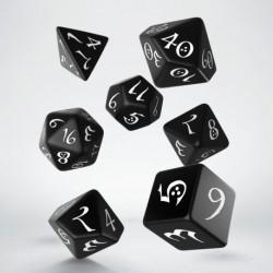 Classic dice set - Black &...