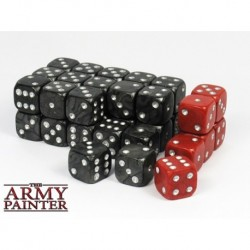 Wargamer Dice, Black (36)