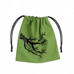 Ent Green & black Dice Bag