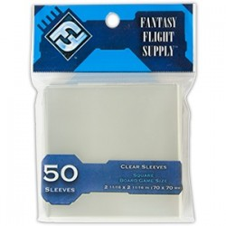 50 Square Card Sleeves...